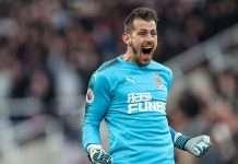 Newcastle signs dubravka