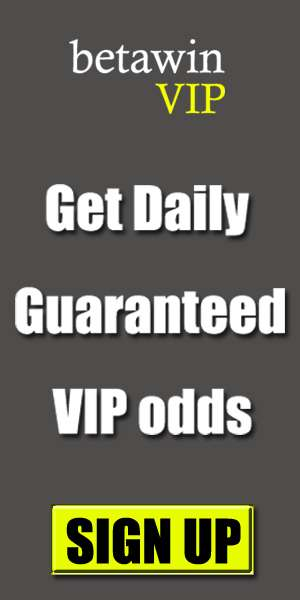 Get Daily Sure and Safe VIP Odds and Tickets - Betawin net