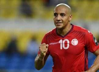 Wahbi Khazri for Tunisia