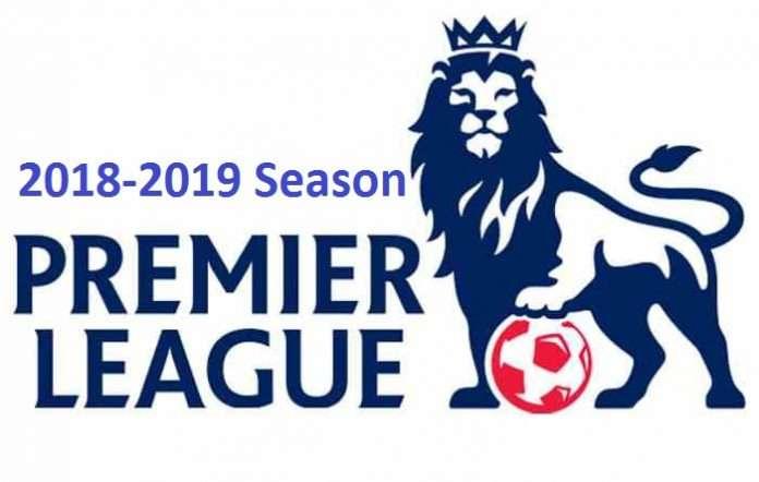 England Premier League fixtures for 2018-2019 season