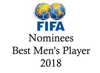 Official FIFA nominees for The Best Men's Player 2018